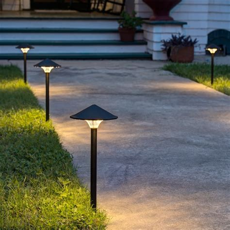 led light design wonderful led pathway lights kichler