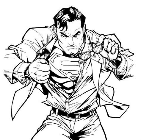 images  superman coloring  pinterest coloring pages superman  cool coloring pages