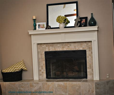 How To Build A Fireplace Mantlesurround Phase 2