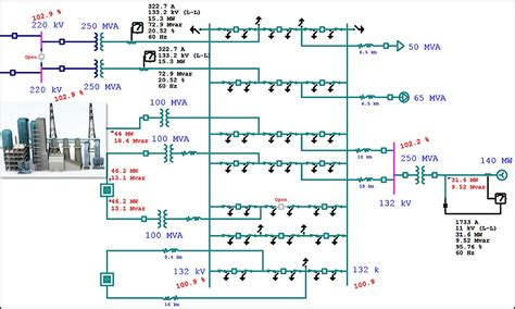 Single Line Diagram by Electrical Single Line Diagram Electrical One Line