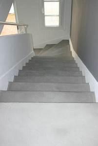 Escaliers sensation beton specialiste du beton cire for Modele d escalier exterieur 3 escaliers sensation beton specialiste du beton cire