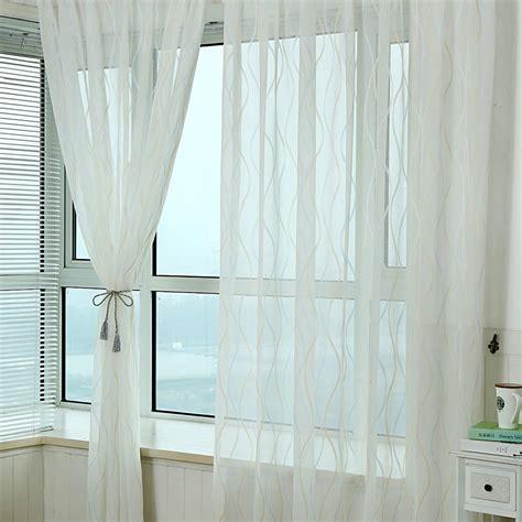 get cheap sheer ivory curtains aliexpress