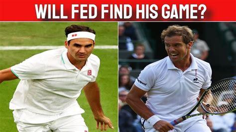 Wimbledon 2021: Federer vs Gasquet Match Preview - YouTube