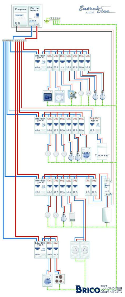 schema electrique chambre schema electrique pour chambre a coucher raliss com