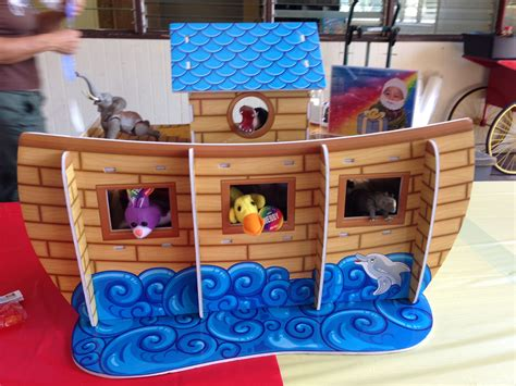 Noah's Ark Centerpiece From Oriental Trading. Fill With Christmas Party Tickets North Pole Updo Hairstyles Oxford Work Etiquette Nights 2014 Ice Breakers Kids Invitations