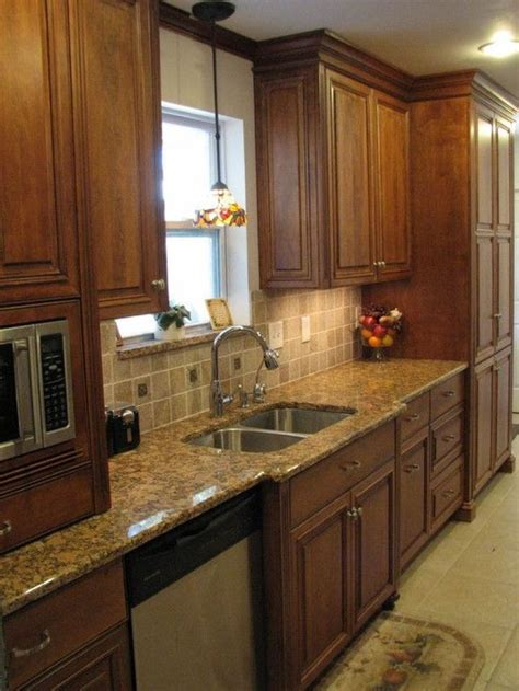 beautiful galley kitchen remodel design   ideas