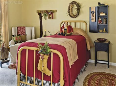 country sampler magazine november  interiors  color