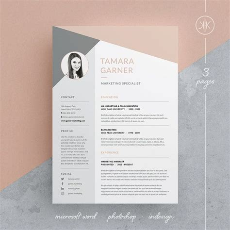 ideas  professional resume design