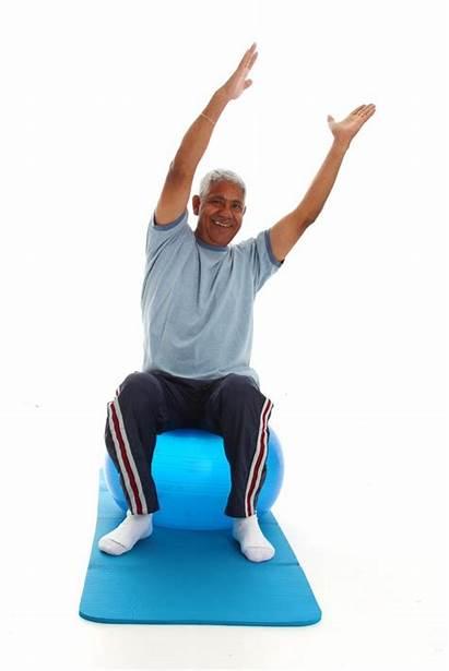 Exercise Senior Fitness Clip Clipart Exercising Stroke