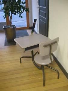 Bureau écolier Vintage : bureau d 39 colier vintage atelier concept mobilier du quotidien ~ Nature-et-papiers.com Idées de Décoration