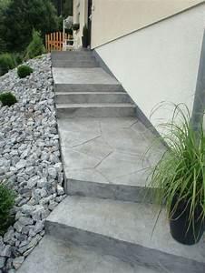 die besten 25 terrassen treppe ideen auf pinterest With balkon teppich mit tapete style