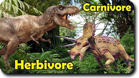 Dinosaur Carnivore Vs Herbivore Family Finger Family  Nursery Rhymes  Dinosaurs Finger Family