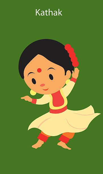 kathak dancer clipart collection