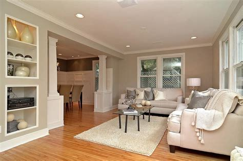 Living Room Dining Room Gray by Gray Grey Living Room Looking Into Dining Room With