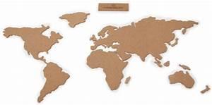 Carte Du Monde Design : sticker carte du monde en li ge 16 pi ces autocollantes li ge luckies made in design ~ Teatrodelosmanantiales.com Idées de Décoration