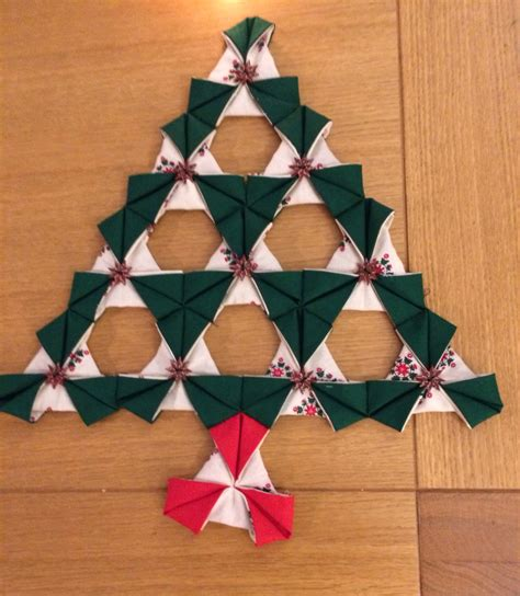 origami patchwork christmas tree origami patchwork