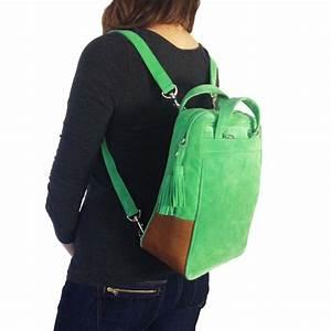 Tasche Als Rucksack : stockhausendesign rucksack tasche aus wildleder gr n ~ Eleganceandgraceweddings.com Haus und Dekorationen