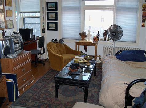 5 Ideas For A One Bedroom Apartment With Study (Includes Floor Plans) : Studio Apartment
