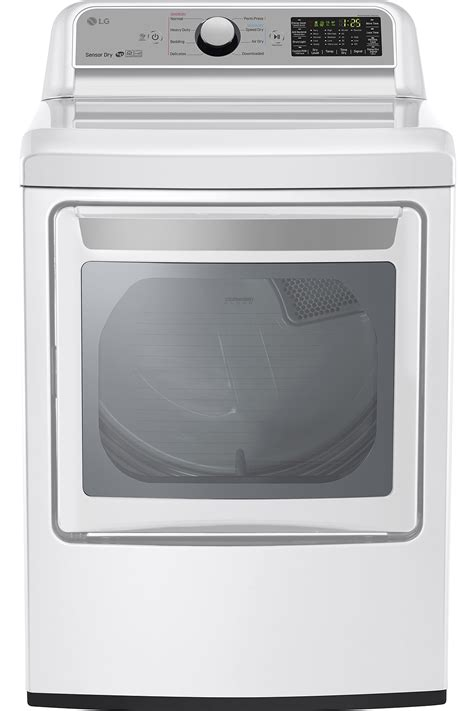 gas or electric dryer lg white super capacity gas dryer dlg7201we