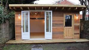 Man Cave - She Shed - Garden Office - YouTube