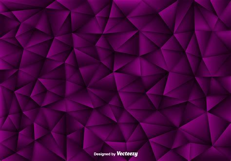 Vector Background Of Purple Polygons  Download Free