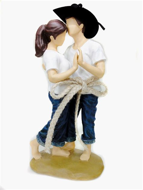 western cake toppers casual lasso of western wedding cake topper figurine