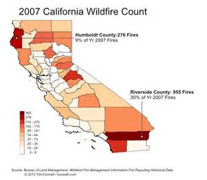 California Wildfire Map