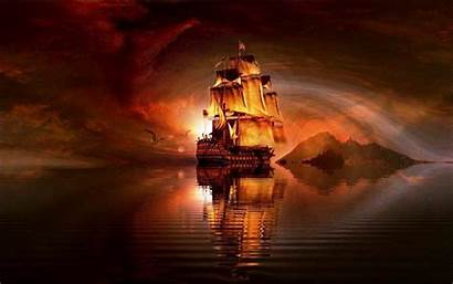 Ship Ghost Cool Wallpapers Pirate Desktop Backgrounds