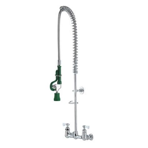 Commercial Pre Rinse Faucet by Krowne 17 108wl 8 In Wall Mount Pre Rinse Assembly