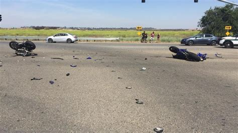 Motorcycle Vs. Car Crash On Friant Road In Fresno, Ends In