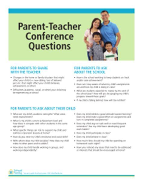 parent conference questions schoolfamily 954 | thumb c328e3e4702b34ef31231d8ce1d427da
