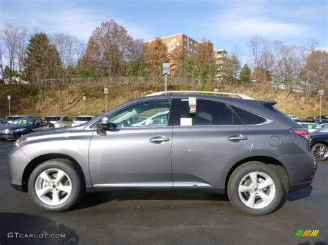 lexus gray 2014 nebula gray pearl lexus rx 350 awd 88016334 photo 6