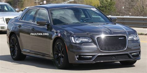Chrysler 300 2016 Srt by Spyshots 2016 Chrysler 300 Srt Spotted In Motown