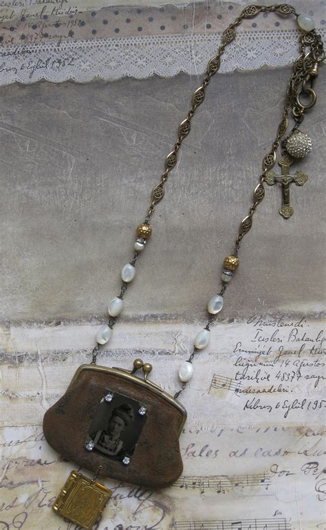 coin purse necklace images  pinterest coin