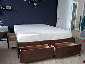 Elevated Platform Bed Create Different Visual Interest To