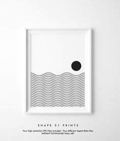 printable art  etsy  indigo wave studio abstract