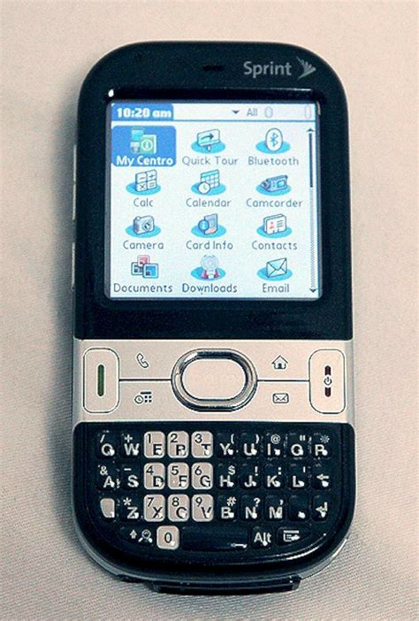 palm mobile phones palm centro 690 sprint pda cell phone black bluetooth
