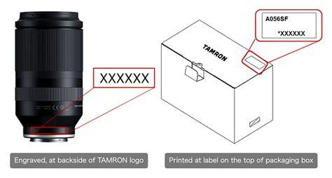 tamron  mm   iii vxd model  lens recall photomalaysia