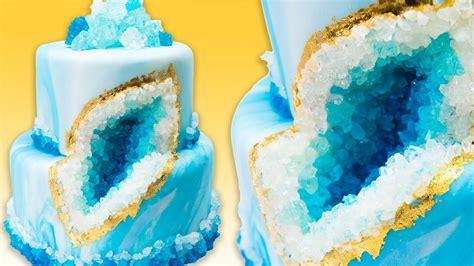 geode cake geode wedding cake  rock