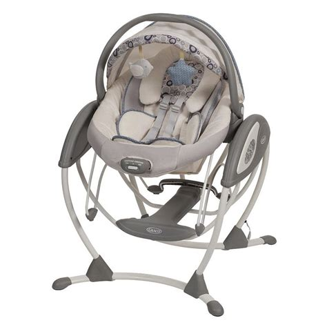 siege graco quot mini quot swing and bouncer graco glider elite swing