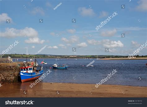 Find A Fishing Boat In Ireland by Fishing Boat On A Dock In Youghal Harbor Ireland Stock