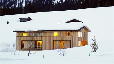 a house a home snow proofed hillside family home in austria 183 alpine modern