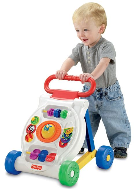 fisher baby walker toys push walking toddler activity infant ride babies boys gifts toy walkers month learning child beginnings bright