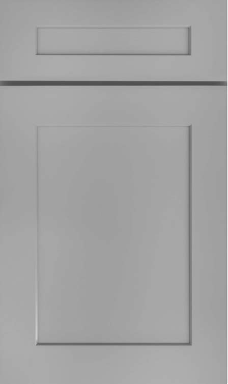 Space Grey Shaker - Kitchen Cabinets