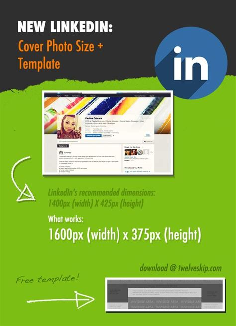 Linkedin Strategy Template by New Linkedin Profile Header Background Size Template