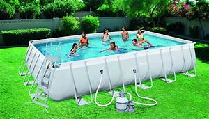 Piscine Bestway Rectangulaire : kit piscine rectangulaire steel pro frame pools 29240 ~ Melissatoandfro.com Idées de Décoration