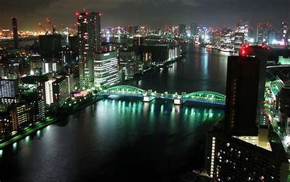 Dual Monitor Tokyo Panorama Wallpapers