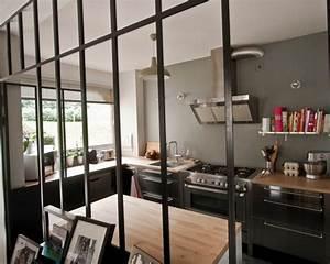 Sejour Style Industriel : merveilleux cuisine style industriel loft 2 verri232re industrielle cgrio ~ Teatrodelosmanantiales.com Idées de Décoration