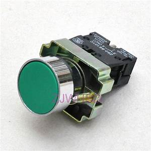 Green sign Momentary Push Button Switch Normally Open ...