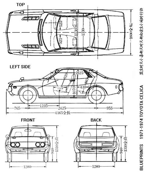 blueprints toy car  woodworking